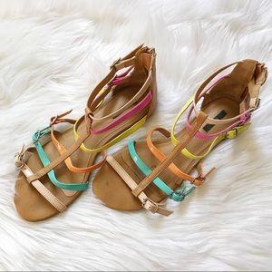 Forever 21 Pastel Sandals
